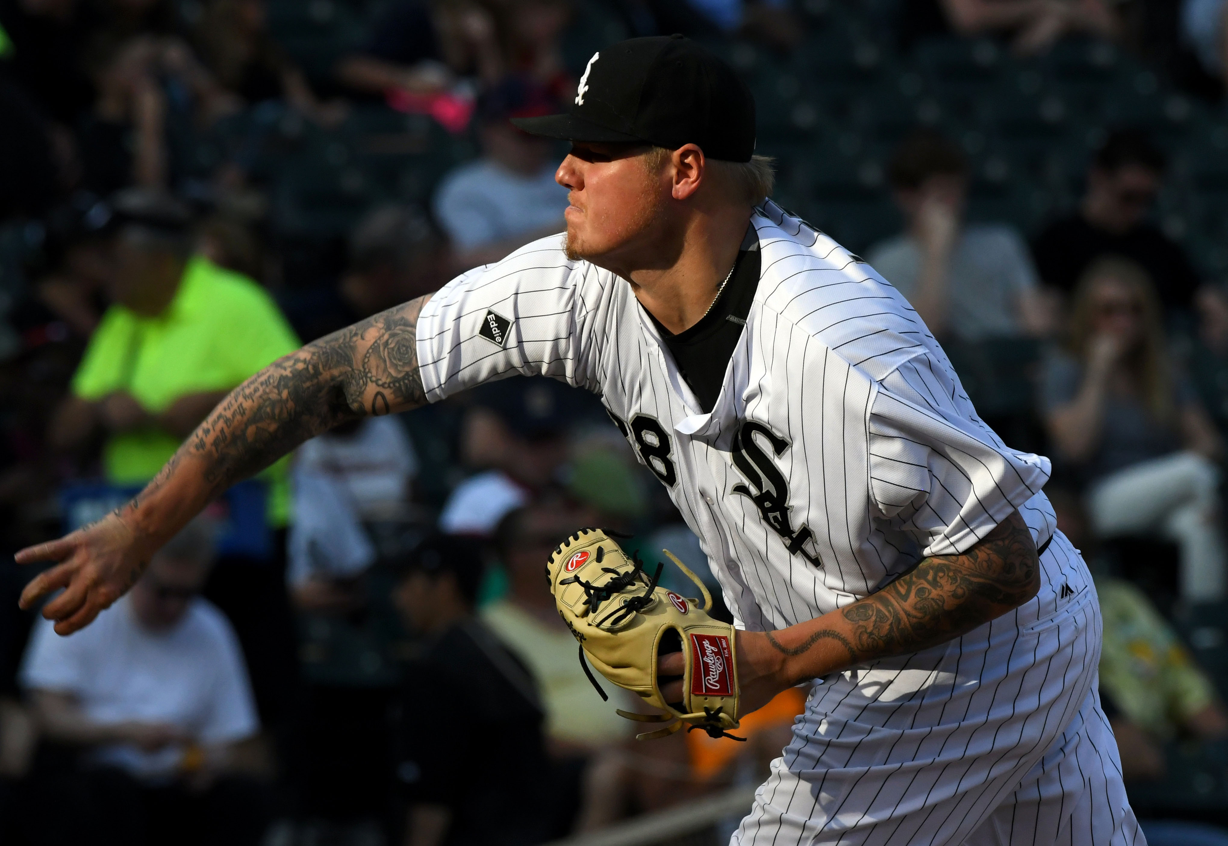 MLB: Game One-Cleveland Indians at Chicago White Sox