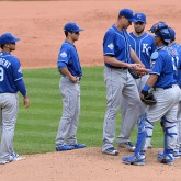 MLB: Kansas City Royals at Cleveland Indians