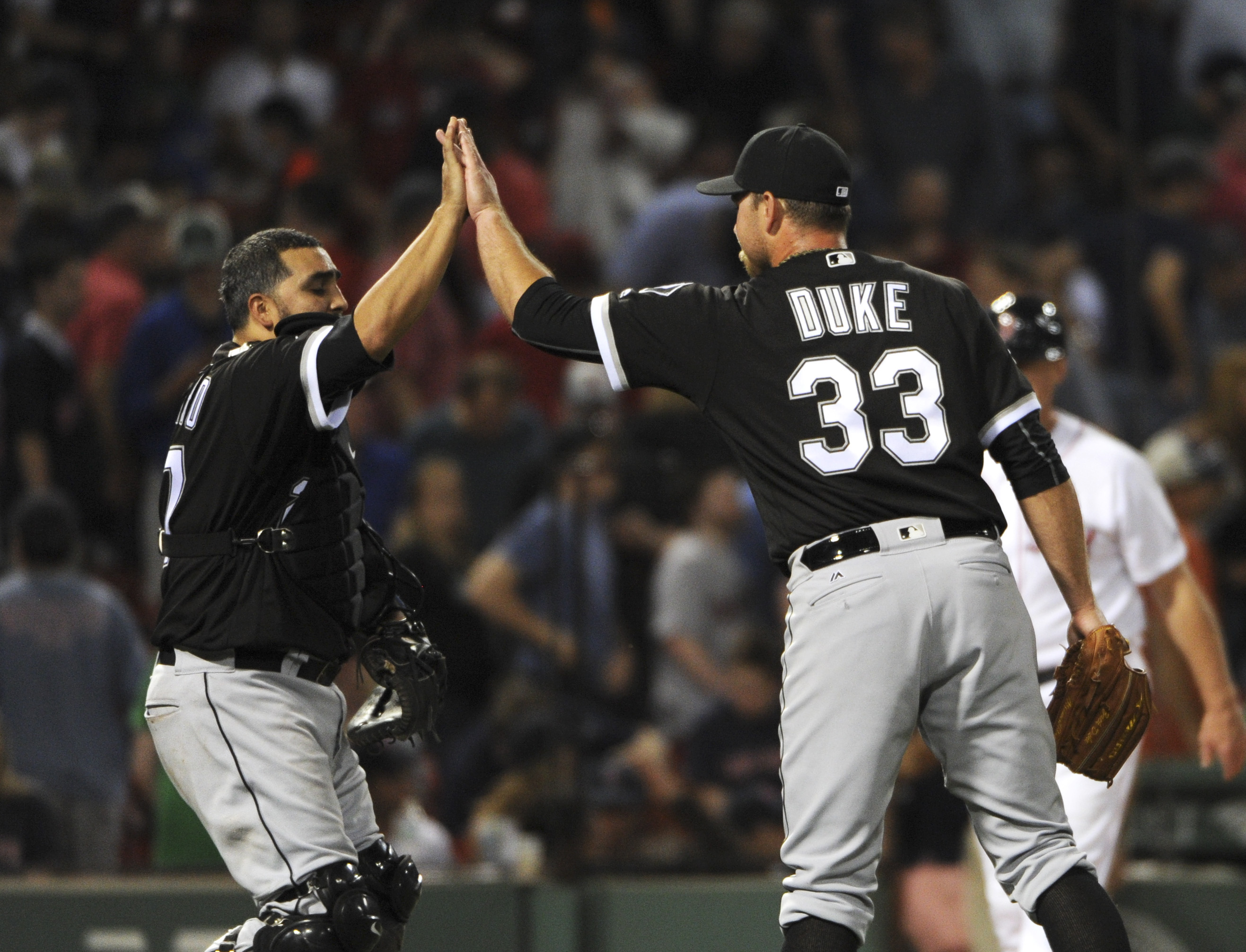 MLB: Chicago White Sox at Boston Red Sox