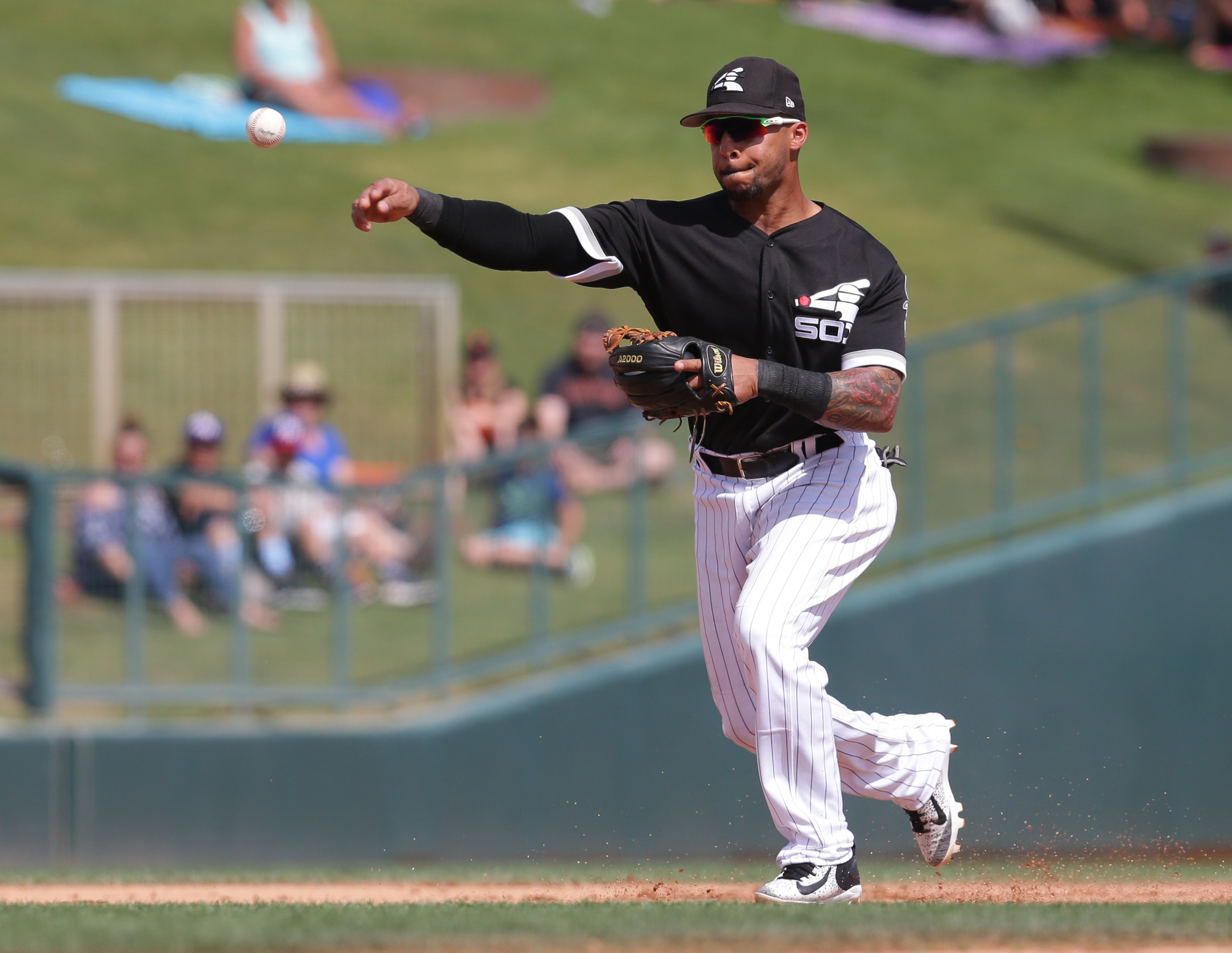 MLB: Spring Training-San Francisco Giants at Chicago White Sox
