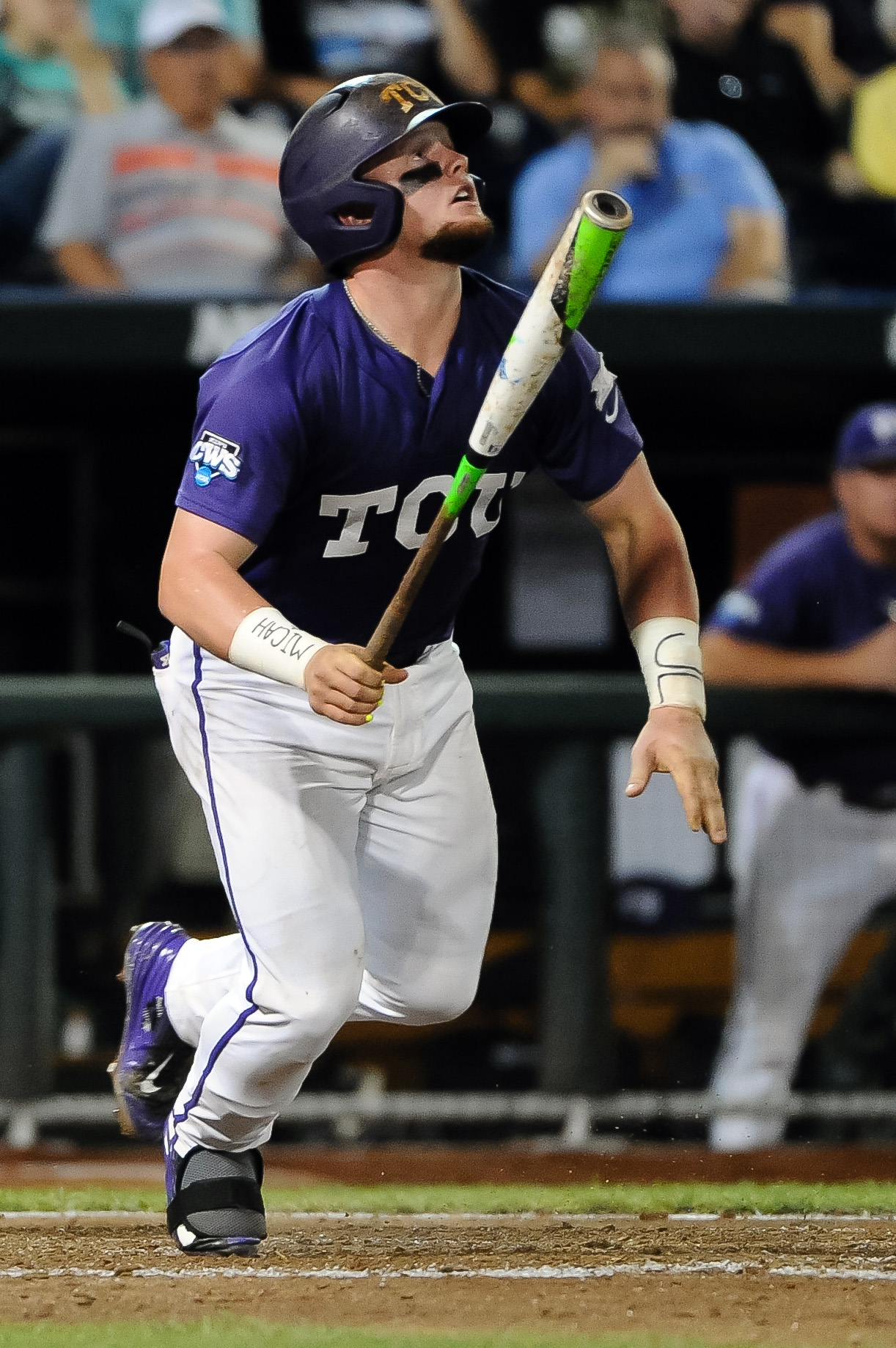 NCAA Baseball: College World Series-LSU vs TCU