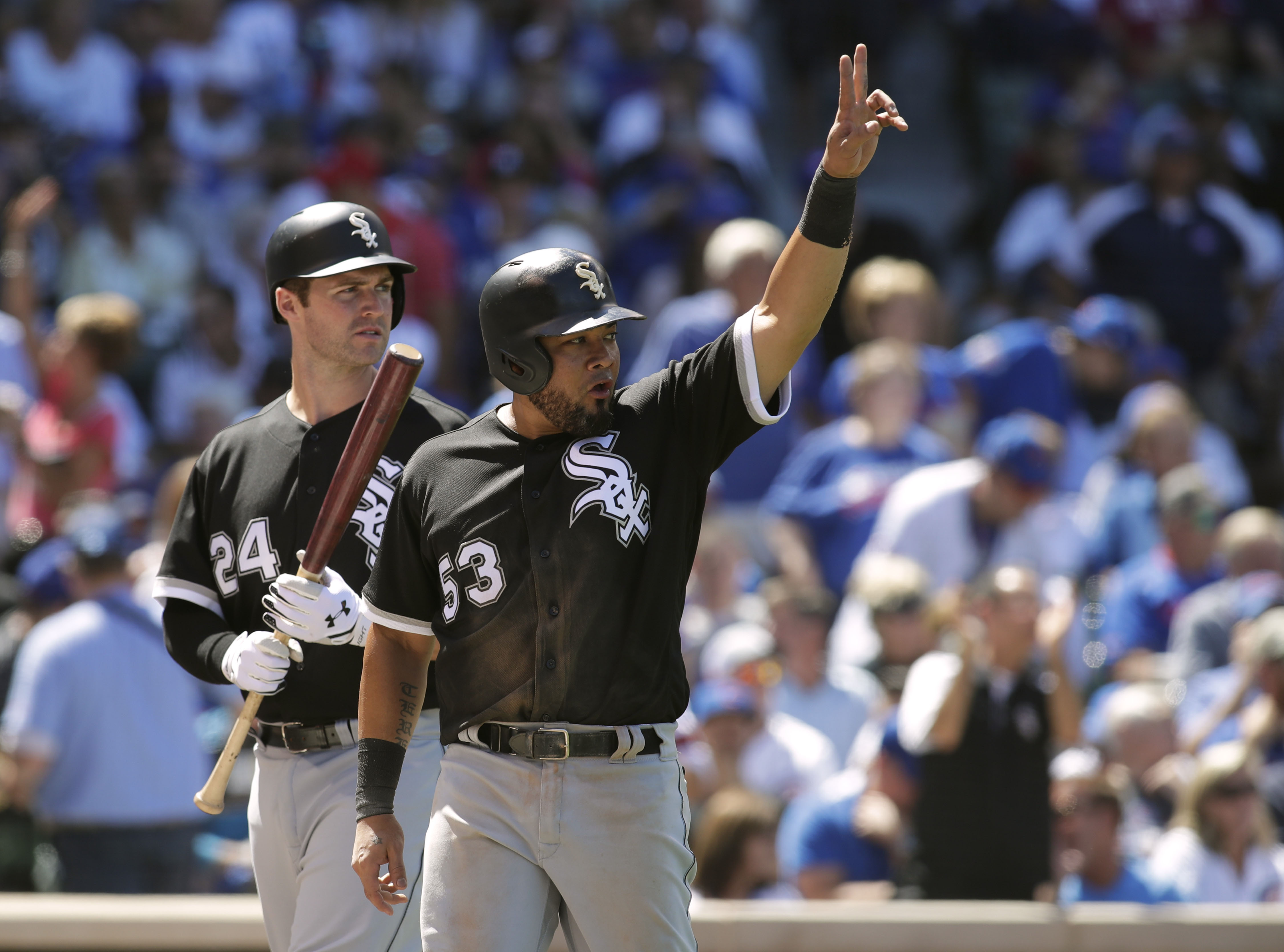 MLB: Chicago White Sox at Chicago Cubs