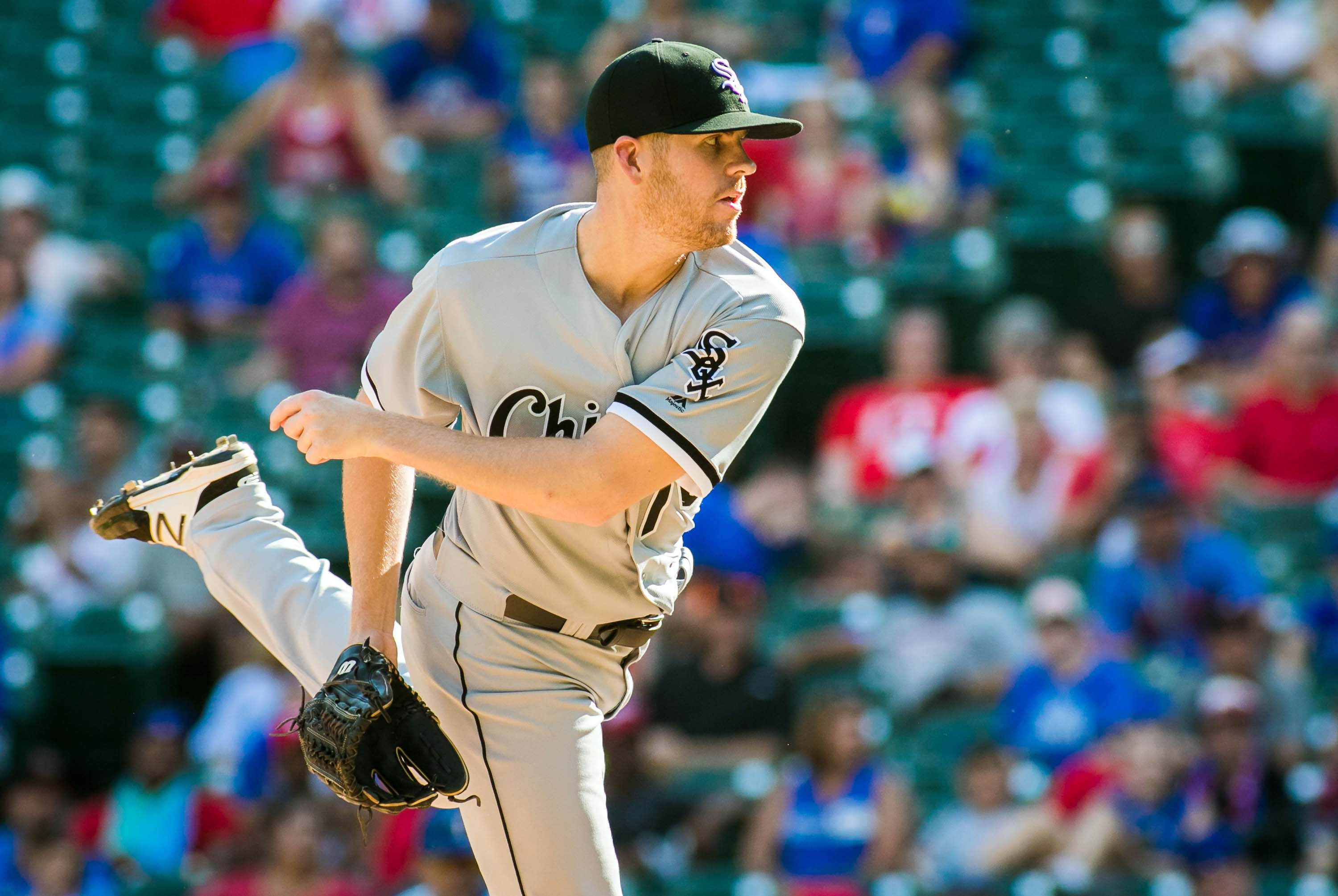 MLB: Chicago White Sox at Texas Rangers
