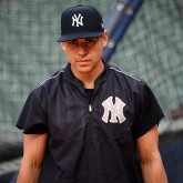MLB: ALCS-New York Yankees Workouts