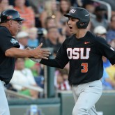 NCAA Baseball: College World Series-LSU vs Oregon State